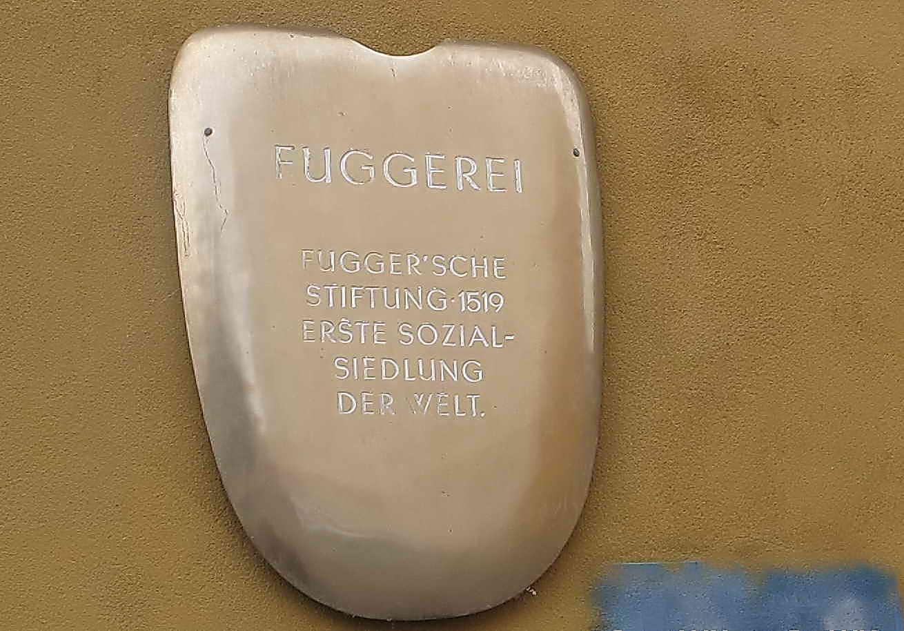 Jetzt in der schwäbisch-bayerischen Hauptstadt - In Fuggerei