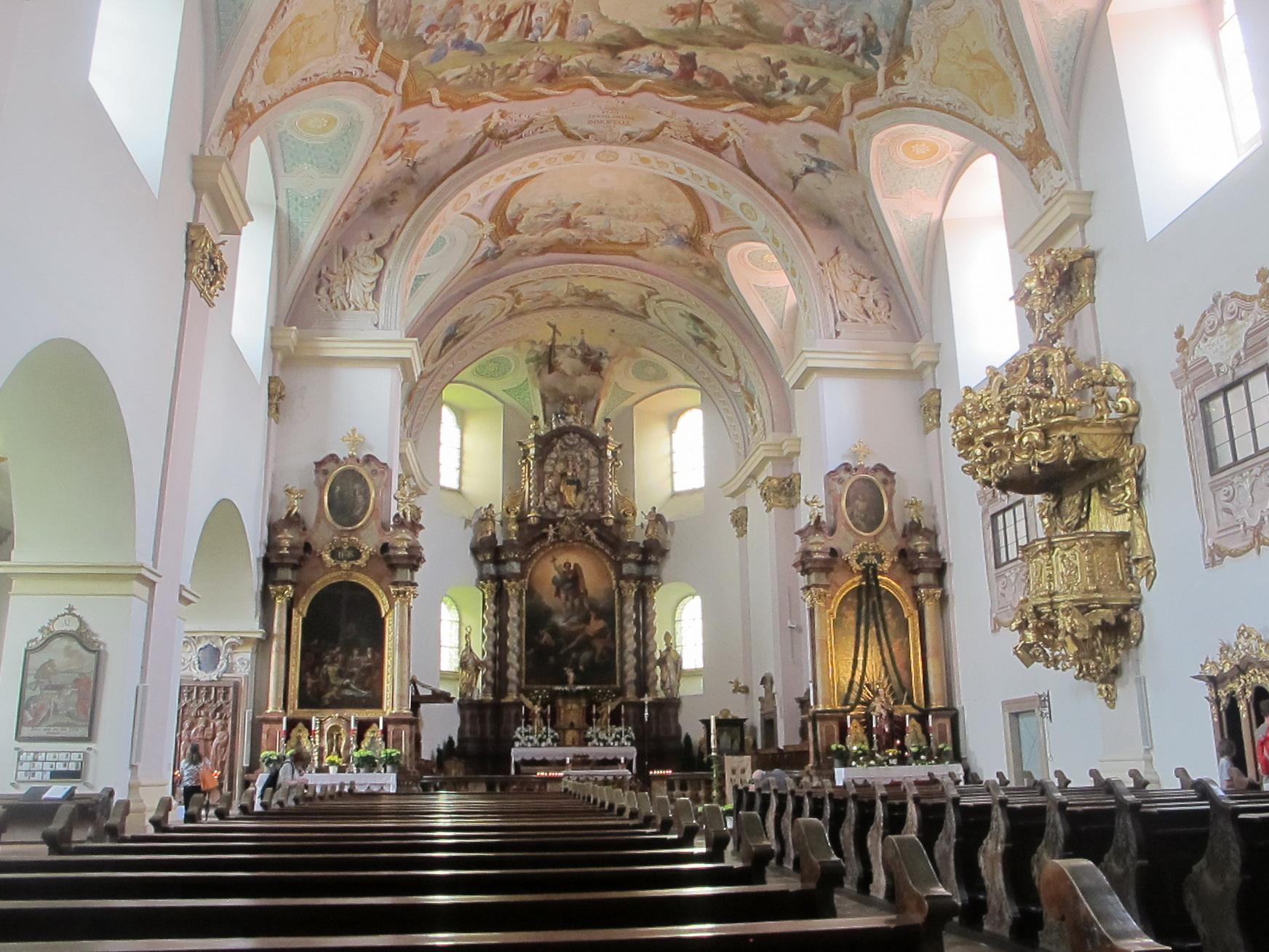 Barocke Stiftskirche Reichersberg