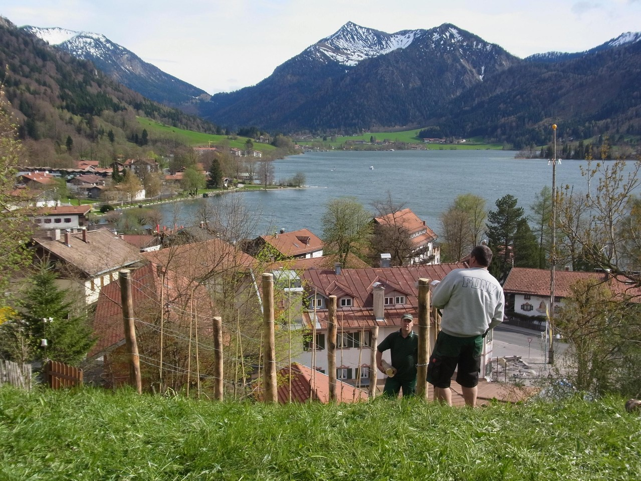 Einer der schönstgelegenen Weinberge Deutschlands