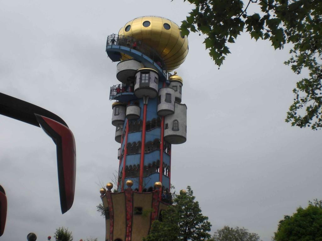 Turm von Babel?                                                                                                                          Fot: KK