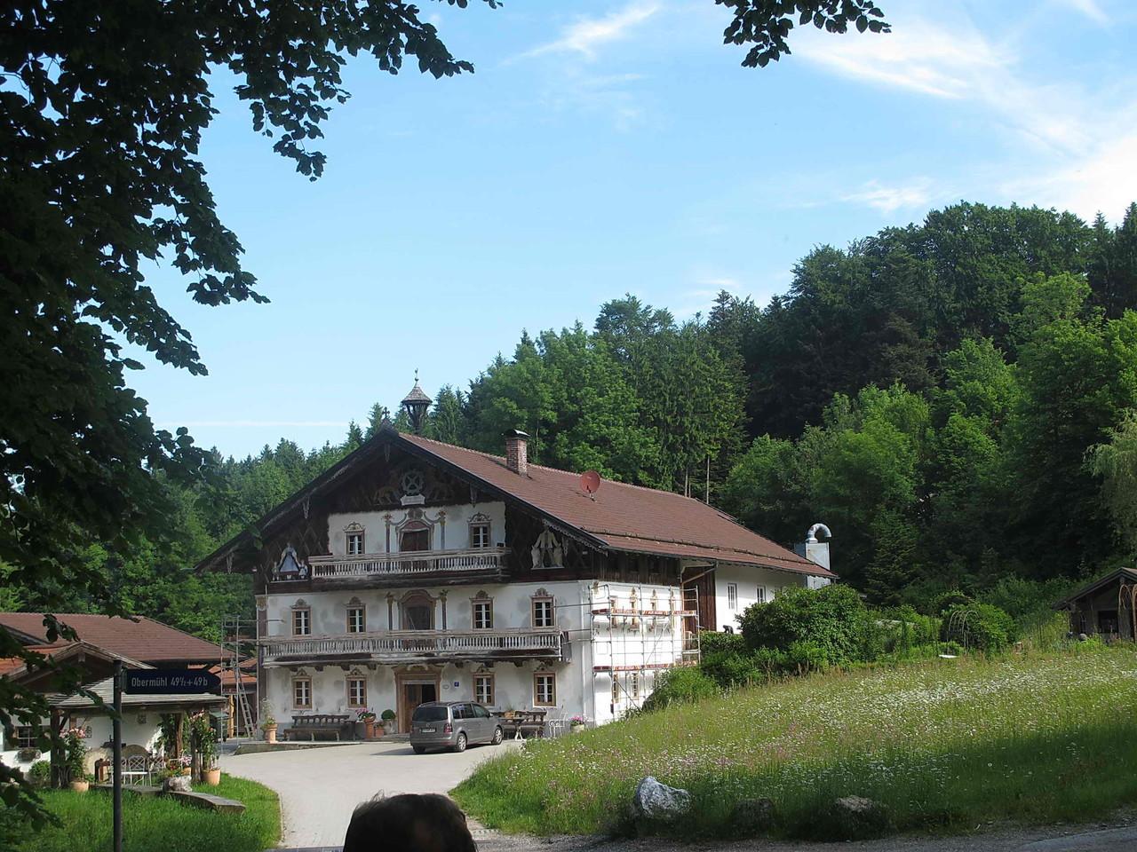 Im Chiemgau unsere erste Station: