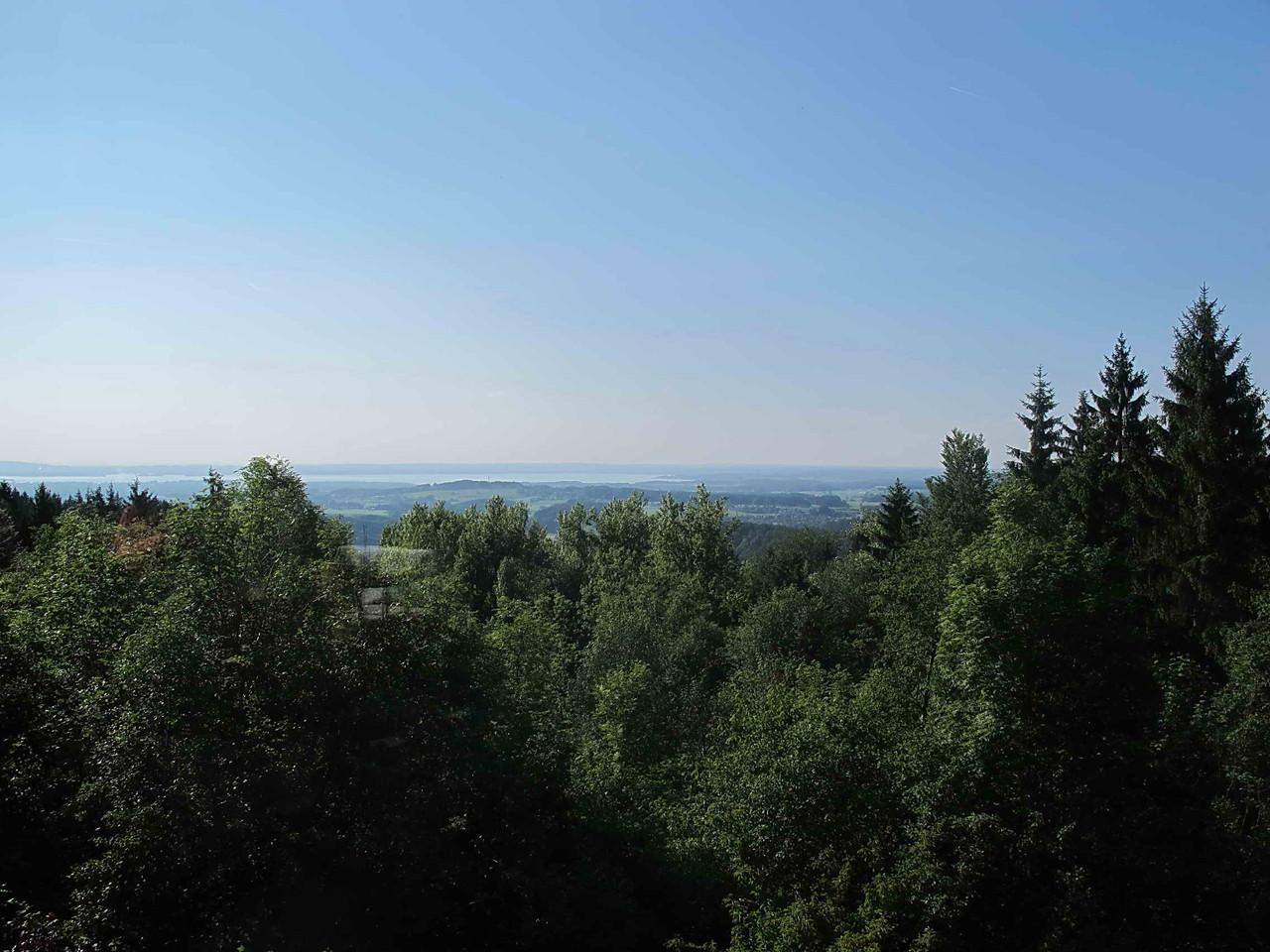 Landschaftlicher Höhepunkt: Aussicht auf den Chiemsee