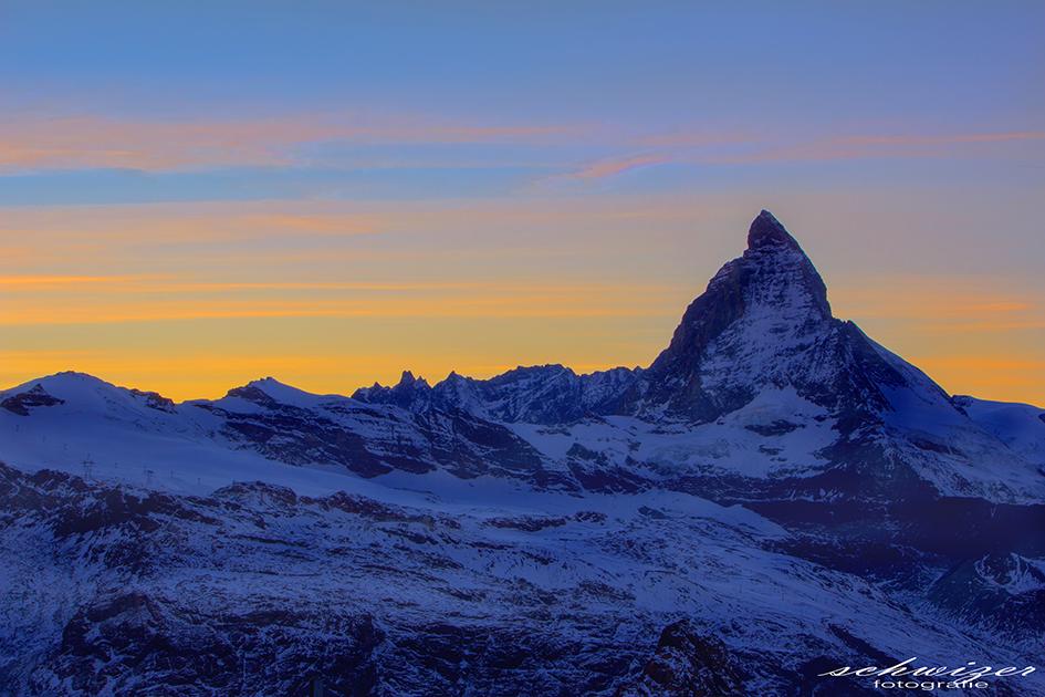 Sunset beim Matterhorn