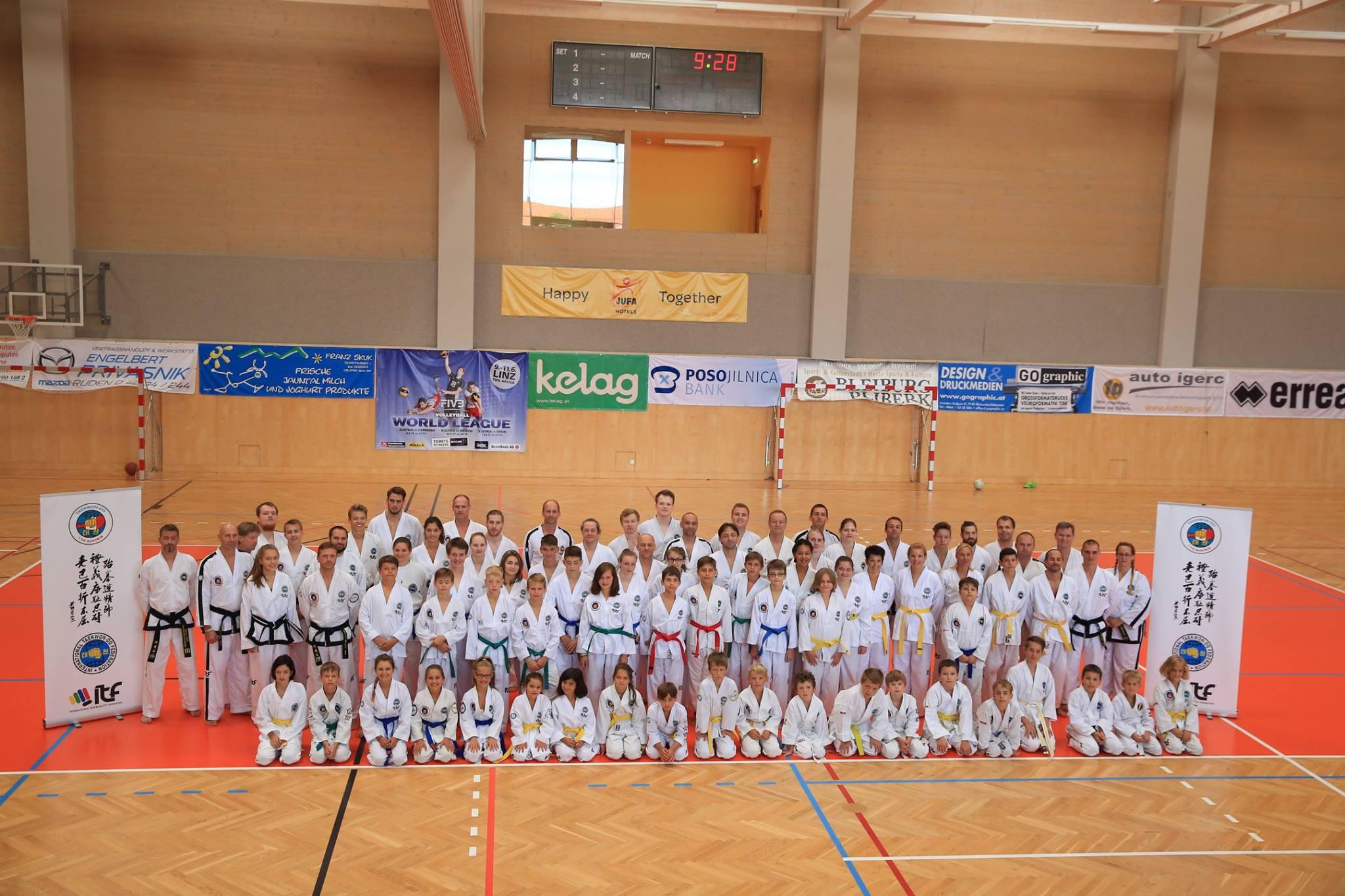 Teilnehmer am Camp 2017 in Kärnten/Bleiburg
