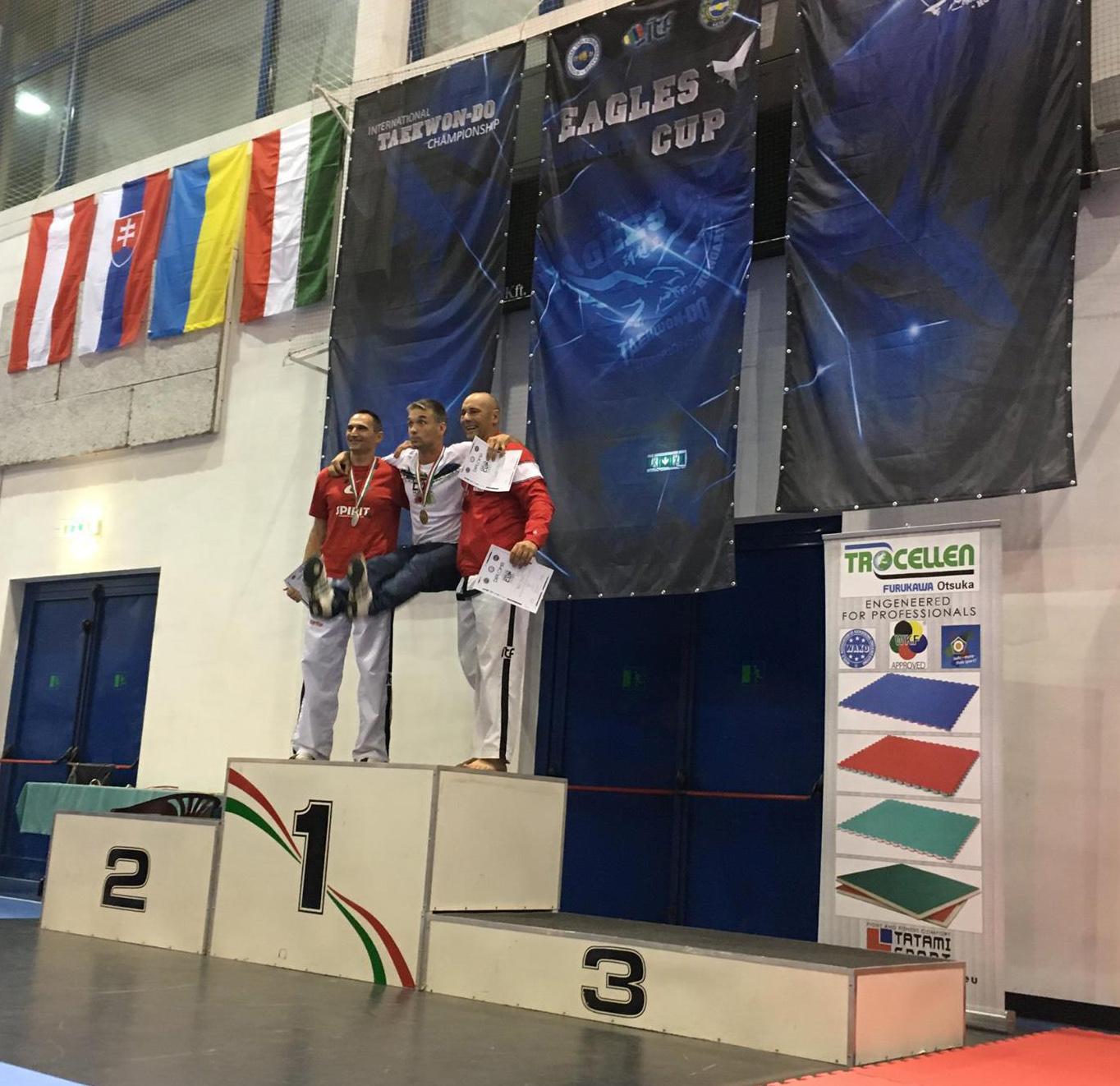René,Peter mit Gabor, er ist Europameister!
