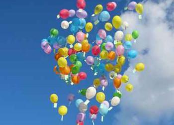 lcher de ballons pour un anniversaire une fte dcole un mariage - Lacher De Ballons Mariage