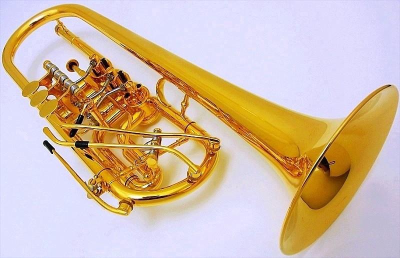 Schagerl(シャガール) Cロータリートランペット GP 特注High-Key×2