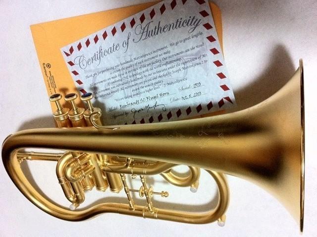 Marcinkiewicz Flugel Horn Rembrandt Model SC