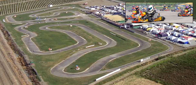 circuito de karts en Villafranca