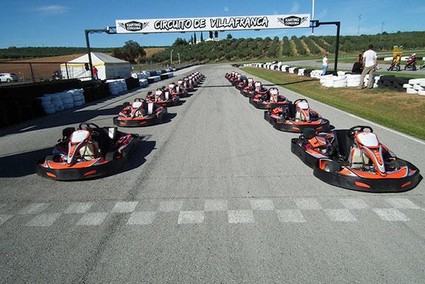 circuito de karts en Villafranca de Cordoba