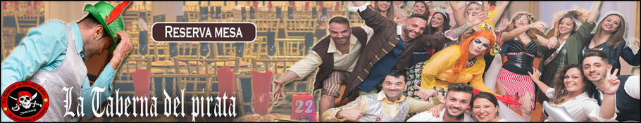 haz click en el enlace para reservar en la taberna del pirata