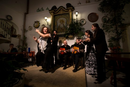 cena con espectaculo flamenco en Cordoba