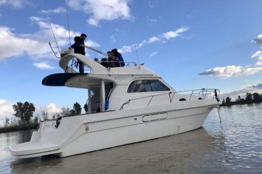 alquiler de barcos por la ría de El Rompido