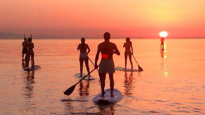 alquiler de paddle surf Huelva