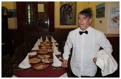 camarero infiltrado Huelva