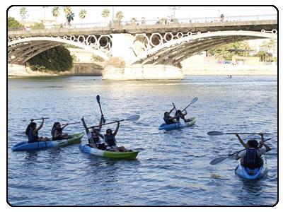 alquiler de kayak de huelva