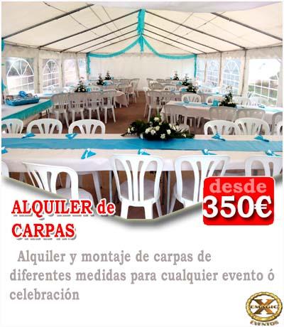 alquilar salón de celebraciones para comuniones en Cadiz