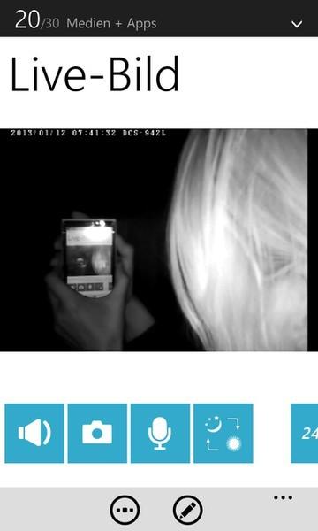 App Screenshot - Nachtsicht Bild im Bild im Bild im Bild...