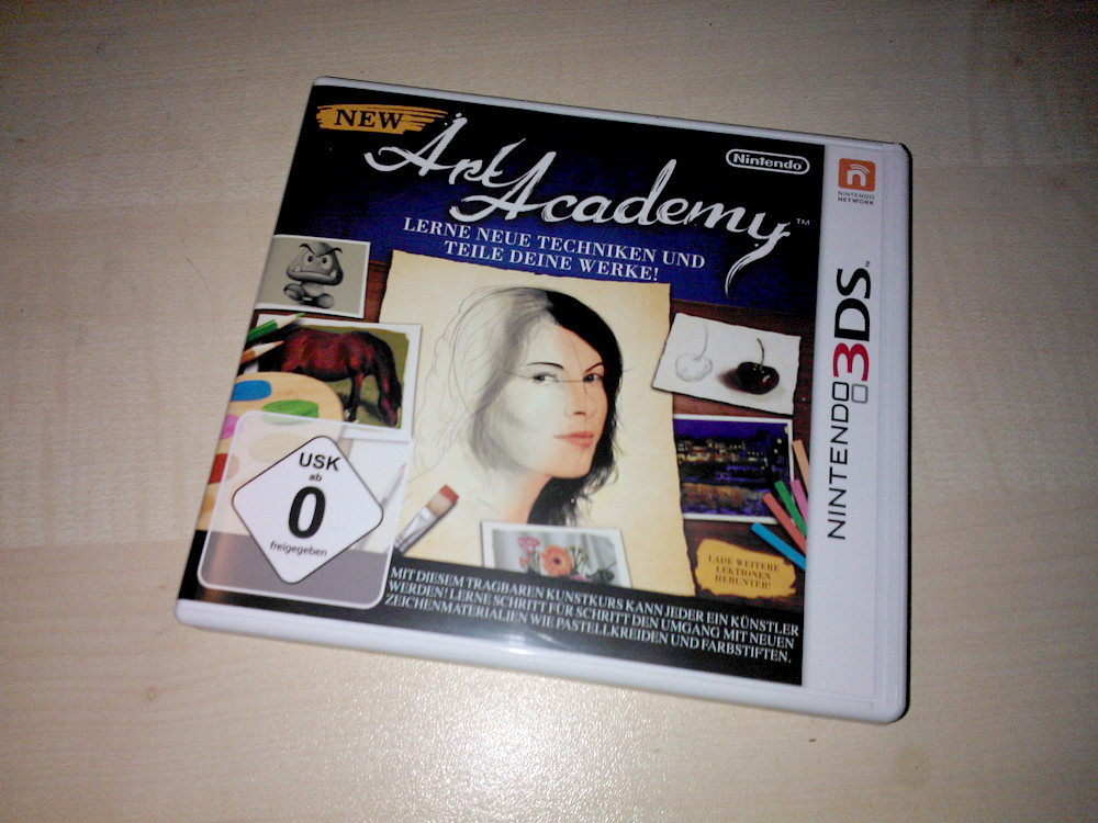 New Art Academy für Nintendo 3DS