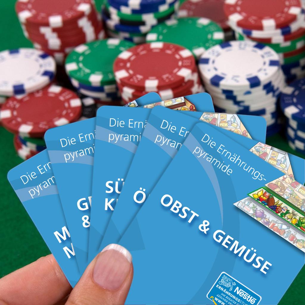 Mit den Karten kann man nur gewinnen!