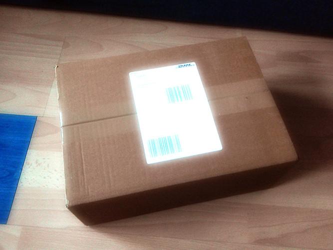 Juhuuuu das Päckchen ist da!