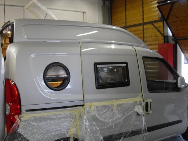 Fiat Doblo Sonderausbau (gasfrei, Dieselkocher)