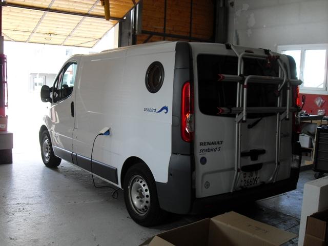 Renault Trafic Sonderausba