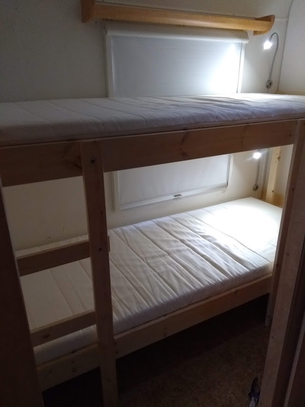 Umbau Stockbett aus Echtholz
