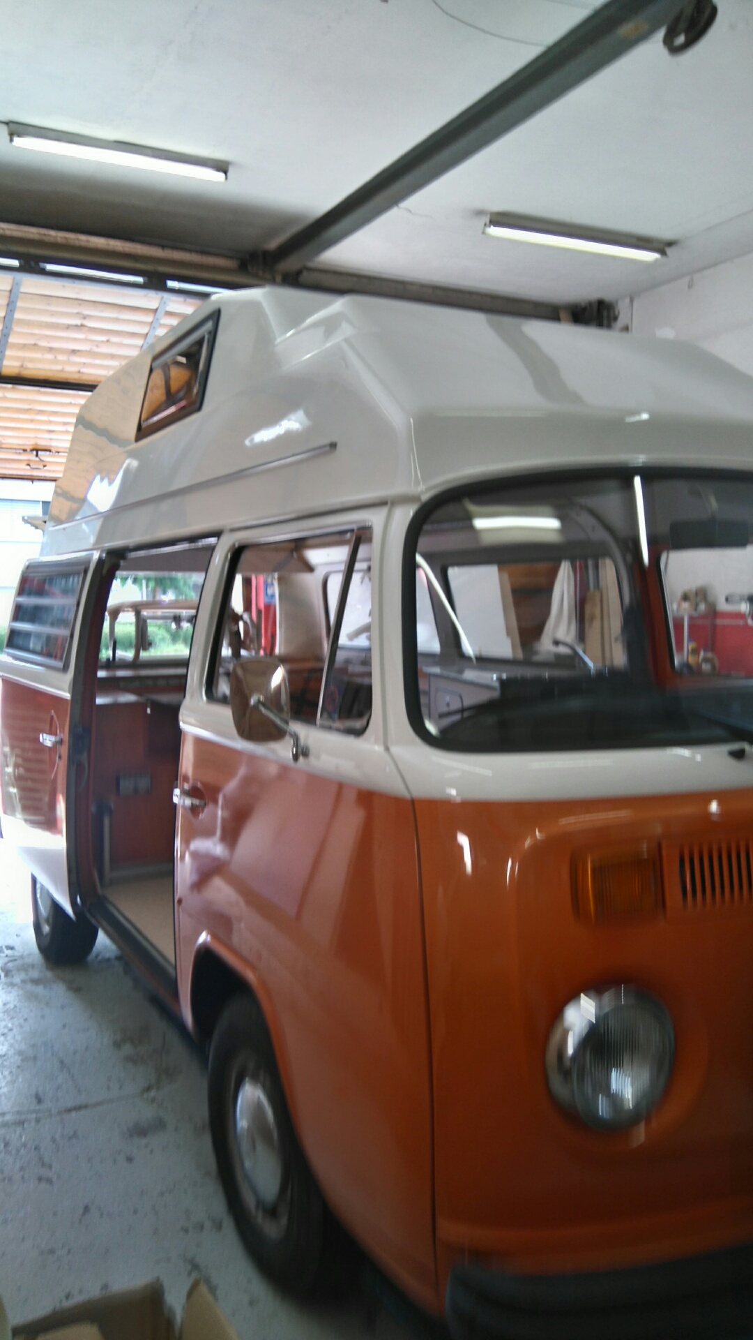 VW-Bus Innenausbau
