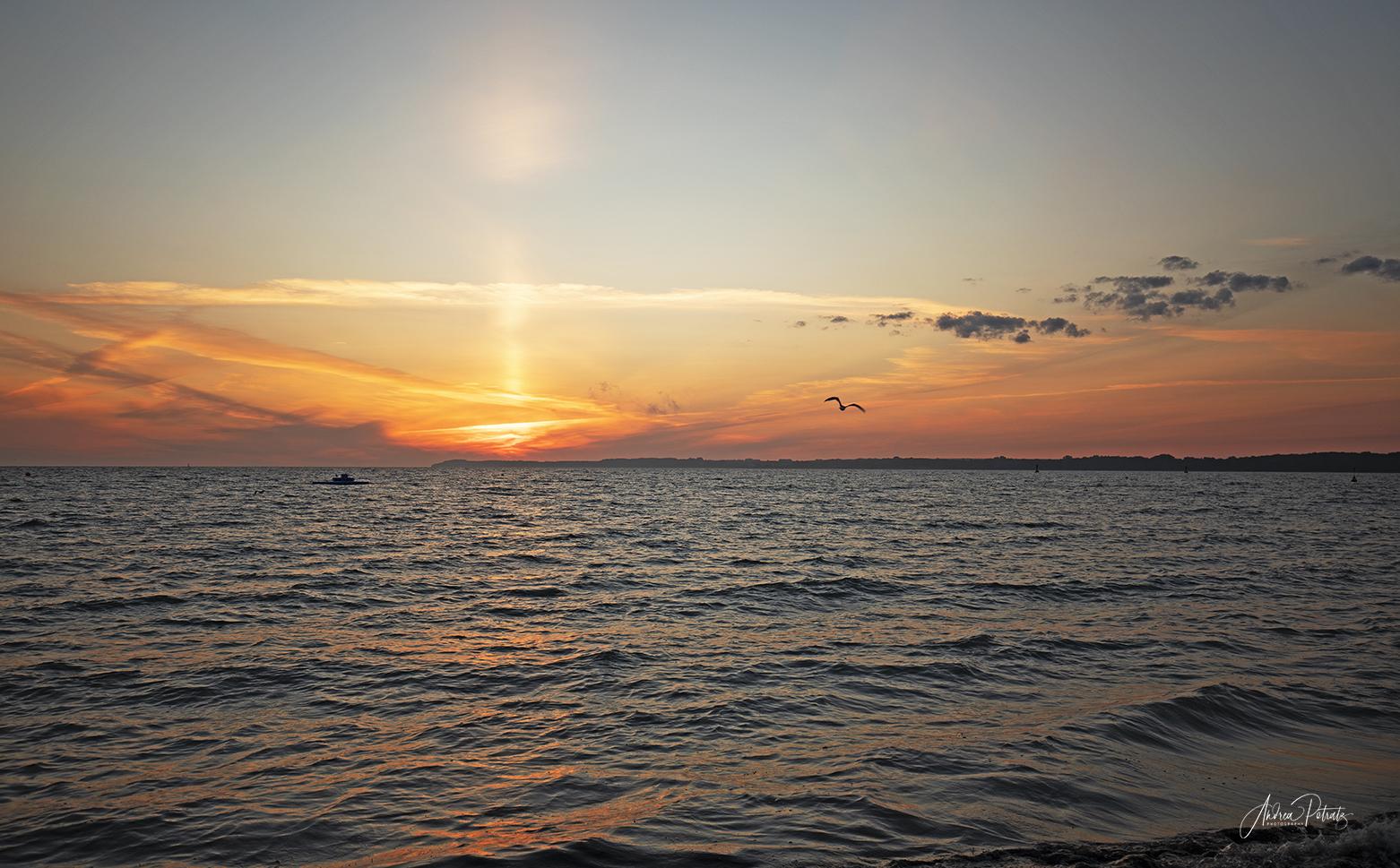 Endlich mal wieder den Sonnenaufgang an der Ostsee genießen