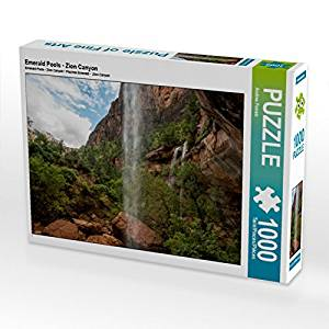 Emerald Pools, Zion Canyon - 1000 und 2000 Teile