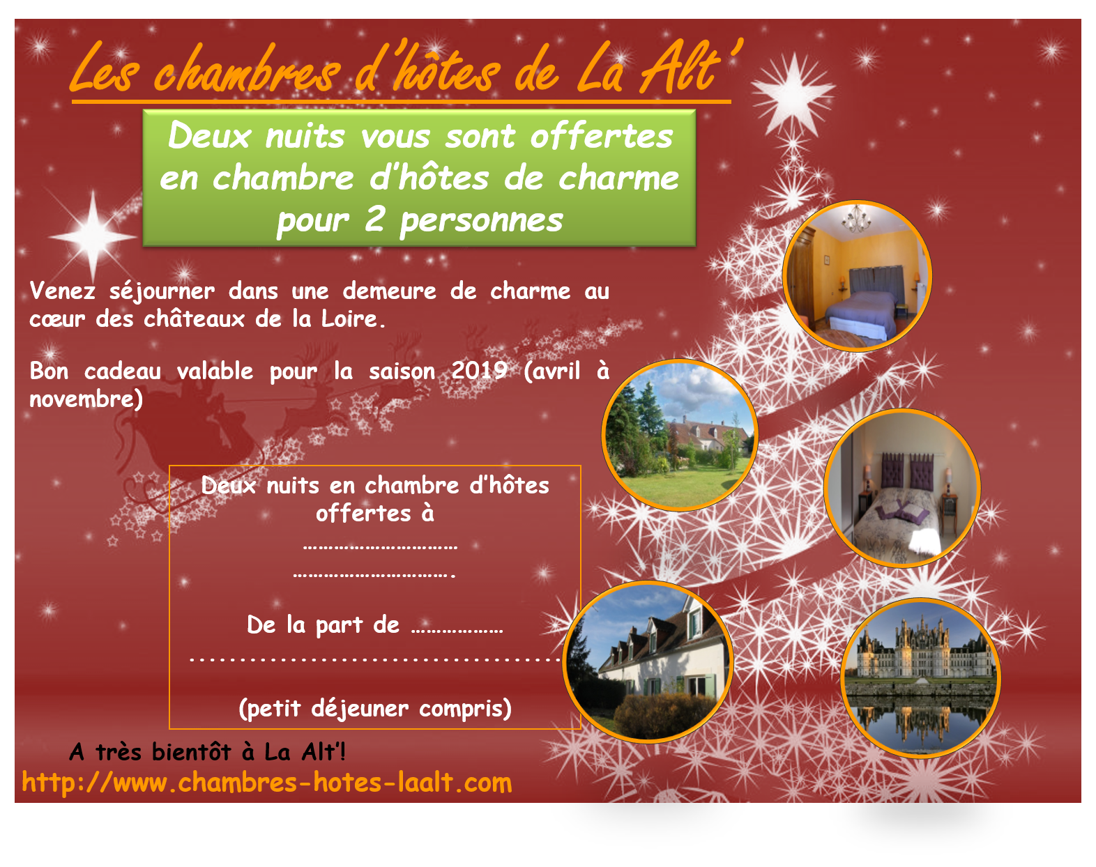 La Alt'   Location Zoo de Beauval, Chambord, Amboise, Cheverny