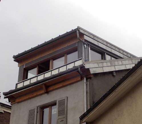 Rendu final : combles habitables, toiture neuve, Isolation optimisée