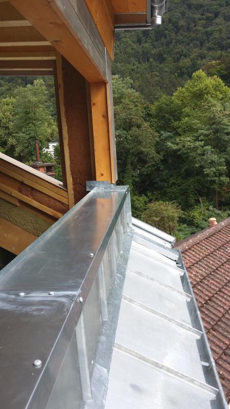 Appui de fenêtre en zinc, sans entretien