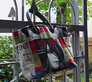 Die neueste Kreation aus meiner Kreativwerkstatt: Die Shopping-Bag im Magazine-Style
