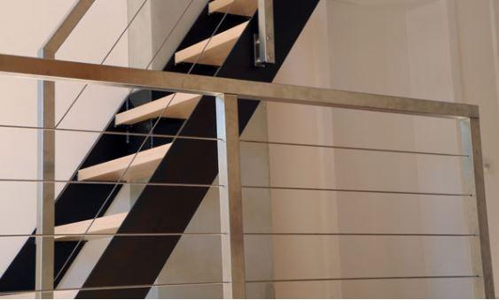 Geländer mit Seil  Quattro Line