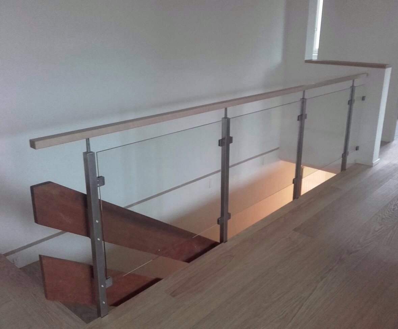 Geländer mit Glas Quattro Line - Elgg 2016