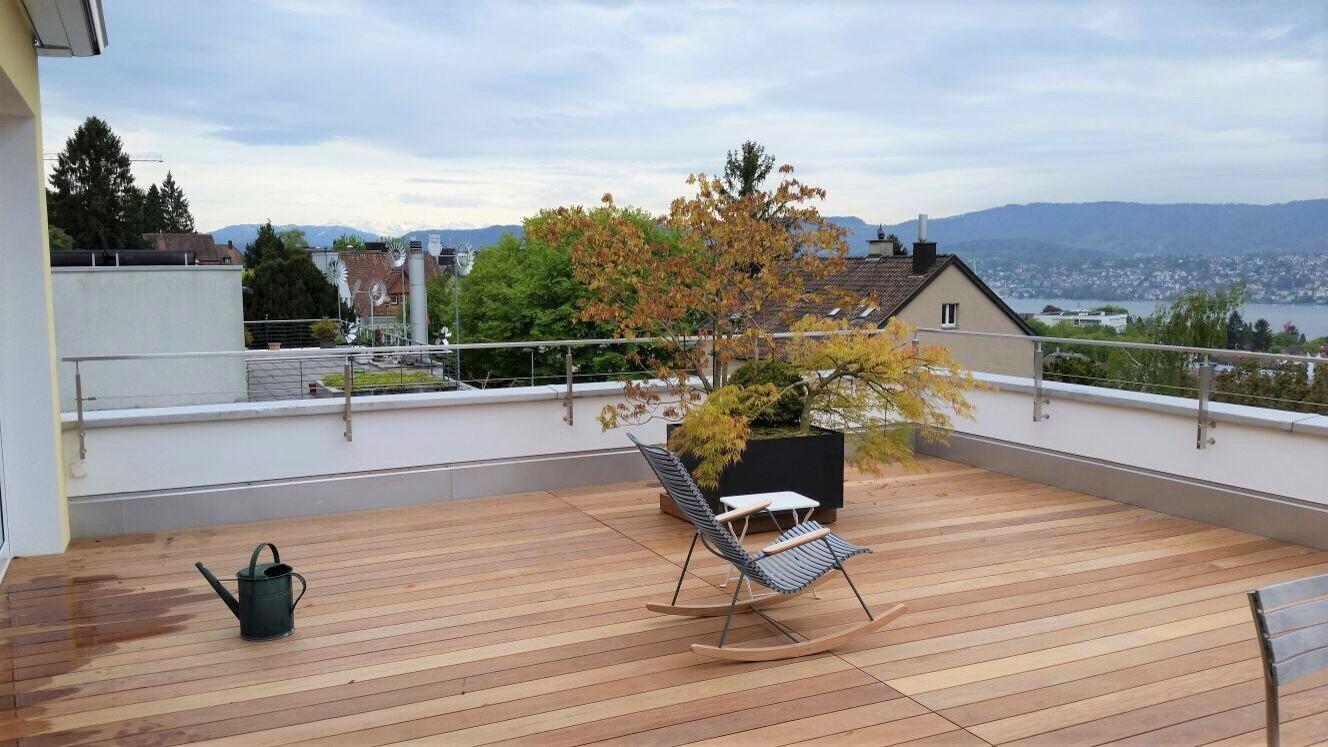 Brüstungserhöhung Rechteckrohr - Zollikon - Zürich 2017