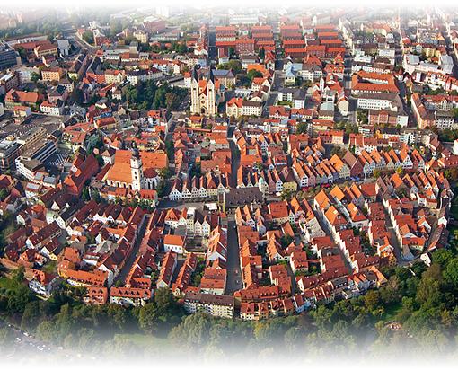 die Stadt Weiden aus der Luft, © Uwe Kragl