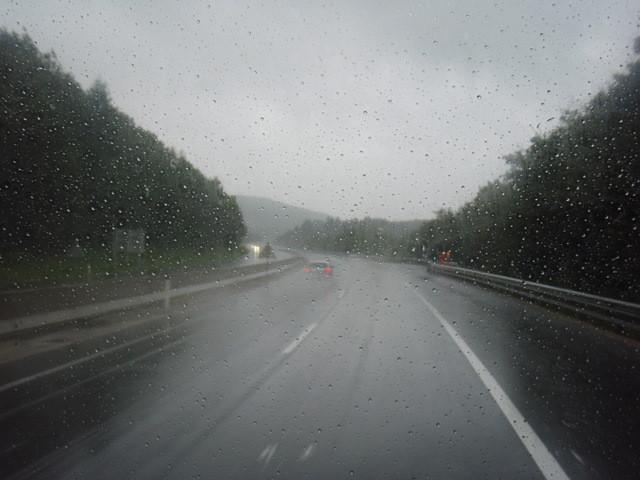 Regen - Regen - Regen und 10 Grad draussen ...