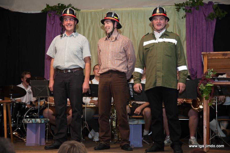 Eine Hymne an die Feuerwehr