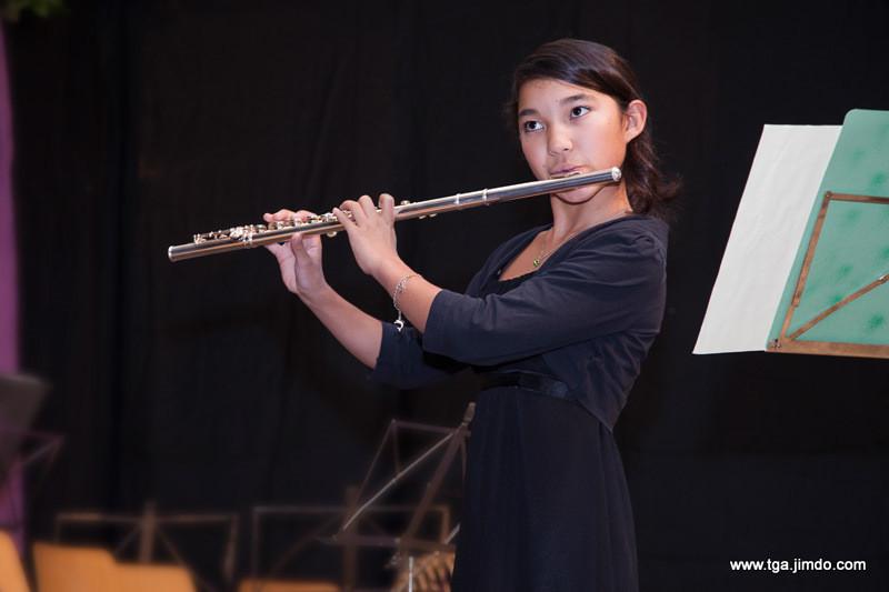 Stefanie Liang, eine Prima la musica Preisträgerin mit ...