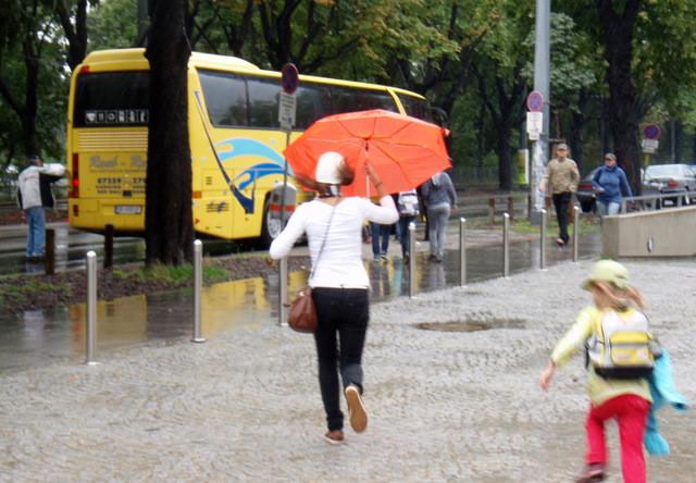 schnell - es regnet (immer noch)