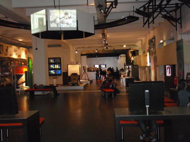 hinten schon das ORF-ZiB1-Studio