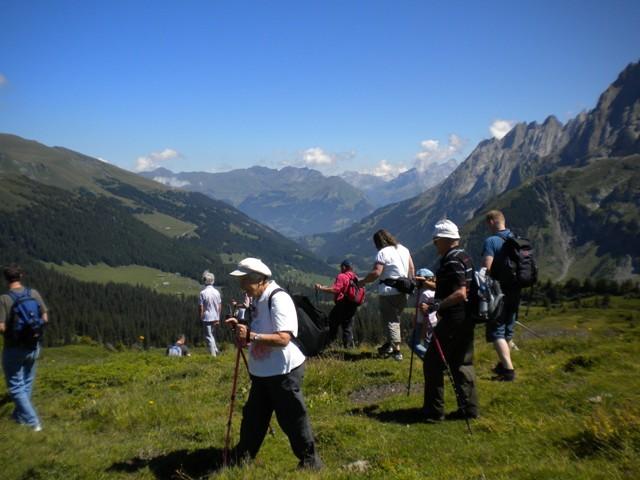 Pic-Nic auf der Grossen Scheidegg.