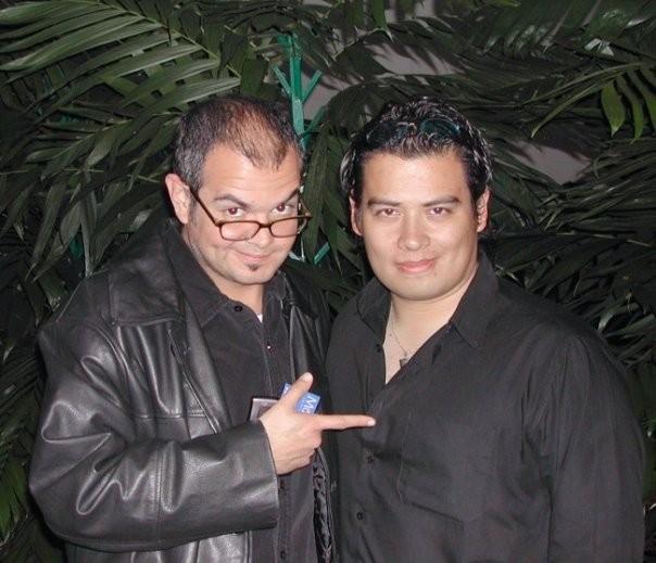 Con mi amigo, el gran Aleks Syntek