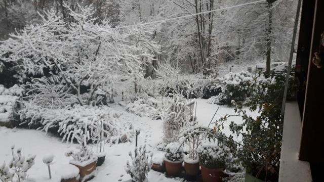 Eine Winterlandschaft bei Joe Zuhause....