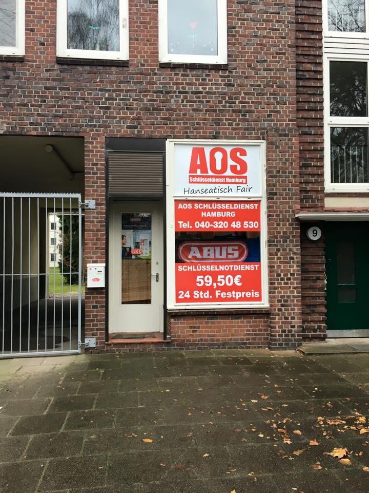 AOS Schlüsseldienst Hamburg - Habichtplatz 9 - 22307 >Hamburg