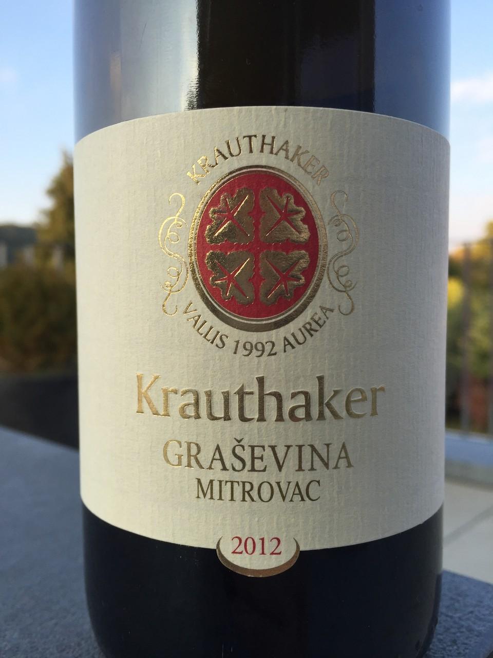 Grasevina, Krauthaker, 2012