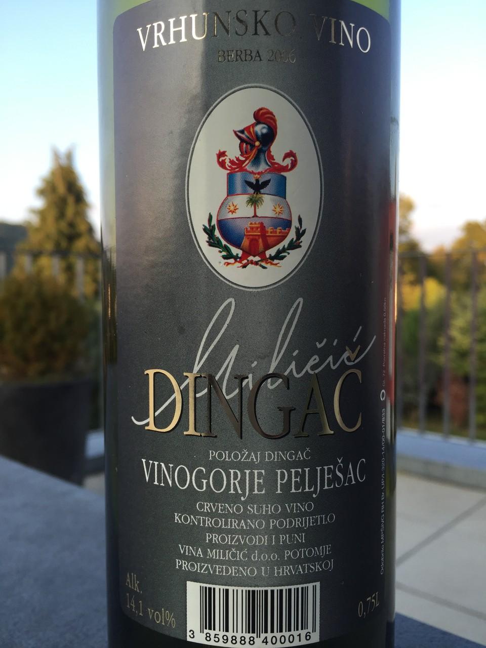 Dingac, Milicic, 2006
